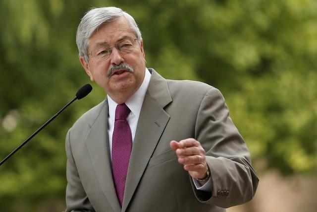 Đại sứ Mỹ tại Trung Quốc tuyên bố từ chức từ tháng sau  - Ảnh 1