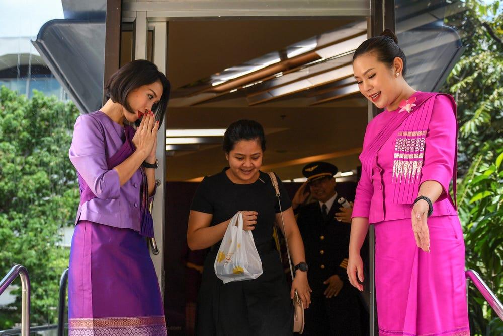 Bên trong nhà hàng phục vụ suất ăn máy bay độc đáo của Thai Airways trong mùa dịch COVID-19 - Ảnh 4