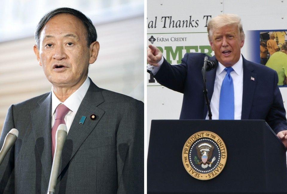Nhà lãnh đạo Mỹ - Nhật lần đầu điện đàm, cam kết thúc đẩy liên minh an ninh giữa hai quốc gia  - Ảnh 1