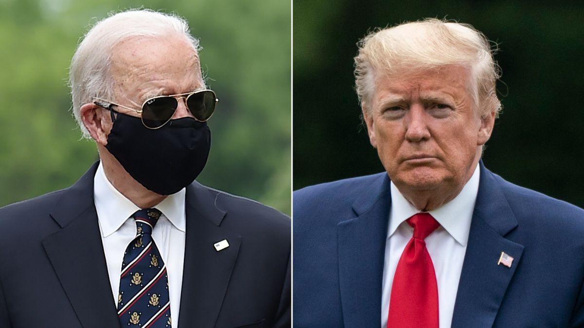 """Tổng thống Trump công kích ông Joe Biden đeo khẩu trang vì muốn che gương mặt """"phẫu thuật thẩm mỹ"""" - Ảnh 1"""