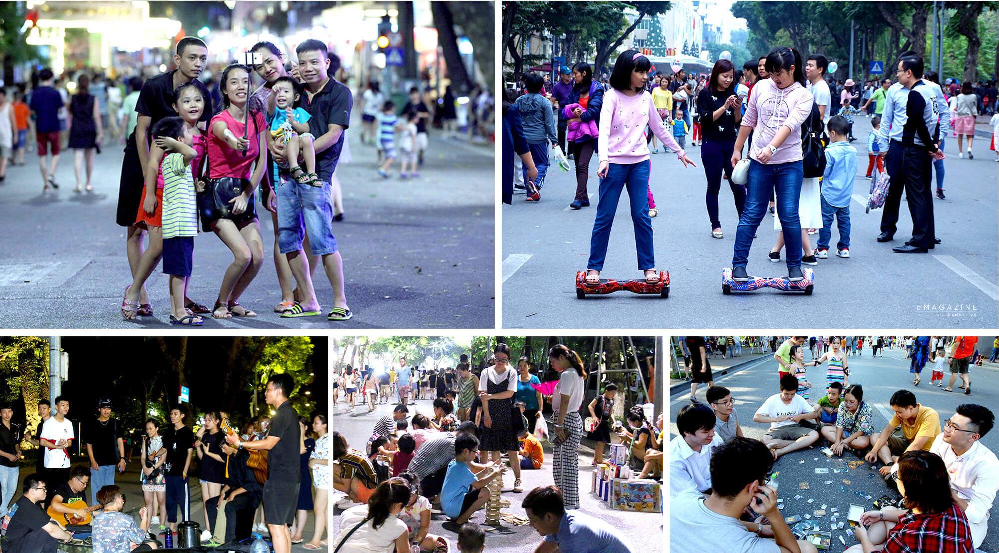 Hà Nội yêu cầu người dân ăn mặc lịch sự, cấm nói tục ở phố đi bộ Hoàn Kiếm - Ảnh 2