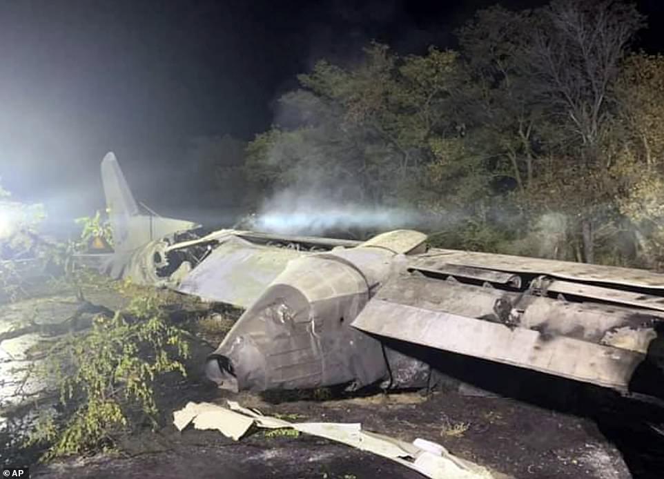 Máy bay quân sự Ukraine gặp nạn, ít nhất 22 người tử vong - Ảnh 2