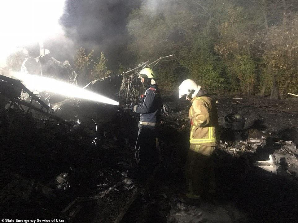 Máy bay quân sự Ukraine gặp nạn, ít nhất 22 người tử vong - Ảnh 3
