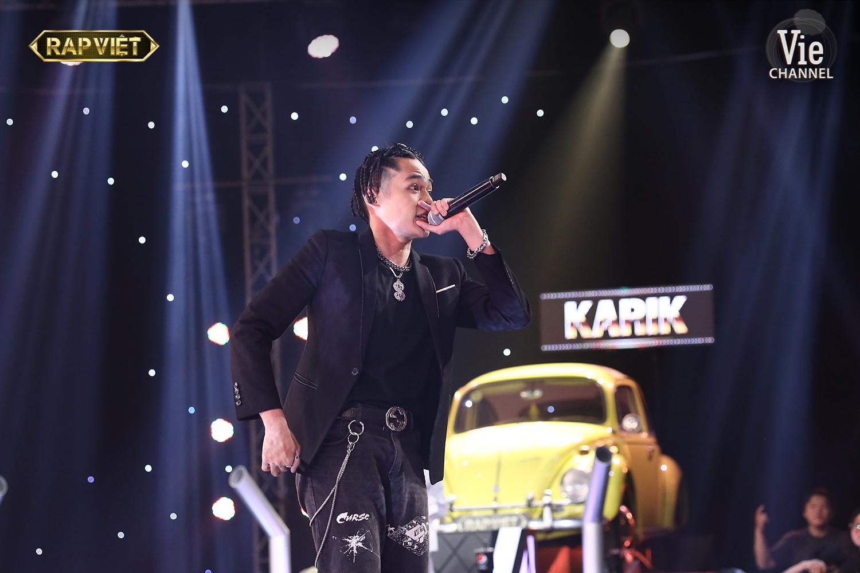 Rap Việt tập 6: Đối đầu Karik, Binz khẳng định không đến để ngồi chơi, quyết tâm sẽ giành chiến thắng cho đội mình - Ảnh 3