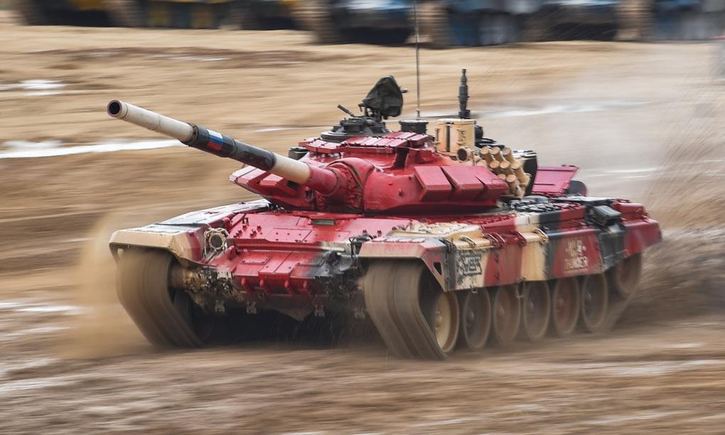 Chung kết Army Games 2020: So găng nảy lửa với Trung Quốc, đội tăng Nga thắng sát nút 36 giây - Ảnh 1
