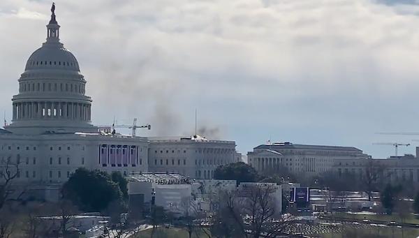 Điện Capitol bất ngờ bị phong toả giữa lúc diễn tập chuẩn bị lễ nhậm chức của tân tổng thống - Ảnh 1