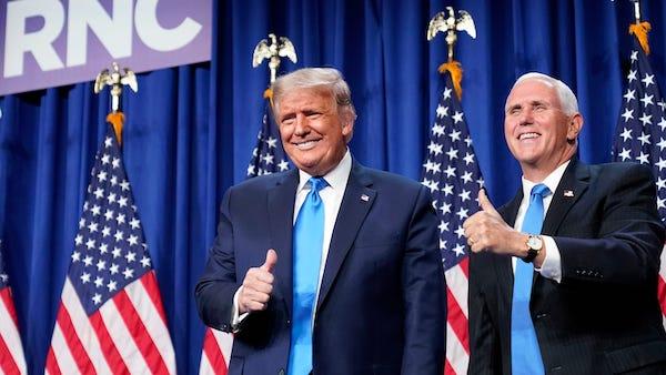 Vì sao phó Tổng thống Mike Pence không tham gia lễ chia tay ông Donald Trump? - Ảnh 1