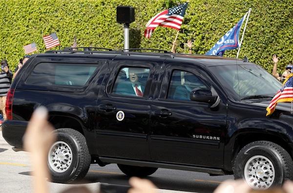 Kết thúc nhiệm kỳ, cựu Tổng thống Trump được chào đón nồng nhiệt tại Florida - Ảnh 7