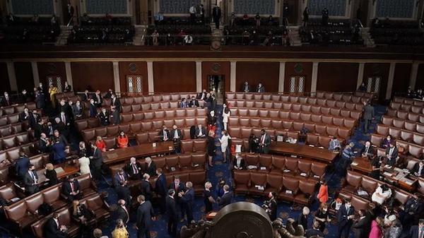 Mỹ điều tra hàng loạt lời đe doạ nhằm vào các nghị sĩ Mỹ trước phiên toà luận tội cựu Tổng thống Trump - Ảnh 1