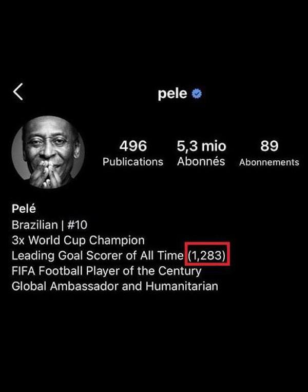 """Huyền thoại bóng đá Pele lên tiếng sau tin đồn thay đổi thông tin cá nhân vì bị Ronaldo """"vượt mặt"""" - Ảnh 2"""