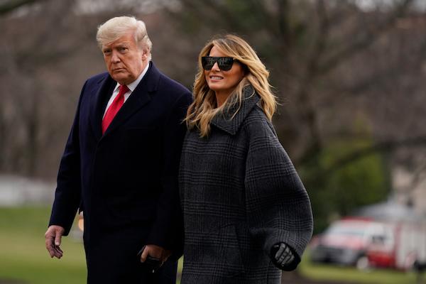 Cuộc hôn nhân của vợ chồng ông Trump có lạnh nhạt như nhiều người vẫn nghĩ? - Ảnh 1