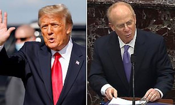 Hậu luận tội, nhóm luật sư bào chữa của ông Trump bất ngờ quay lưng với nhau - Ảnh 1