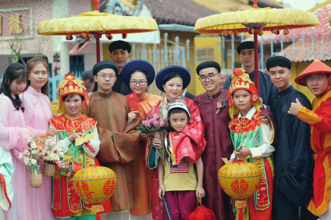 Chuyện về cô dâu chú rể 9X chọn cổ phục triều Nguyễn cho ngày cưới - Ảnh 1
