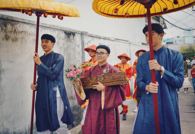 Chuyện về cô dâu chú rể 9X chọn cổ phục triều Nguyễn cho ngày cưới - Ảnh 2