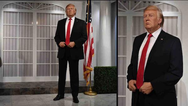 """Bảo tàng Mỹ phải cất tượng sáp của cựu Tổng thống Trump vì liên tiếp bị """"đấm"""" - Ảnh 1"""