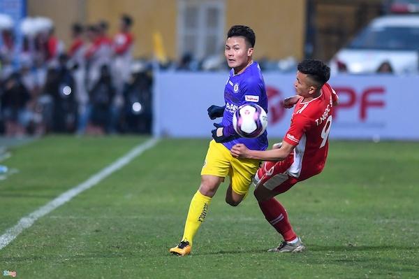 Bị chấn thương dây chằng, Quang Hải có thể sẽ phải bỏ trận đấu gặp CLB Hải Phòng  - Ảnh 1