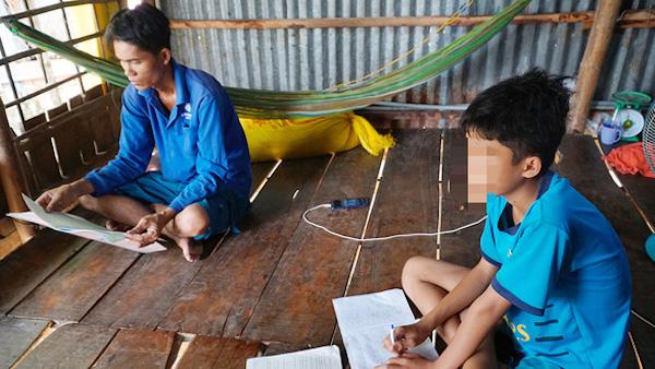 Vụ học sinh lớp 6 không đọc được chữ: Phân công giáo viên kèm cặp riêng các học sinh yếu kém - Ảnh 1