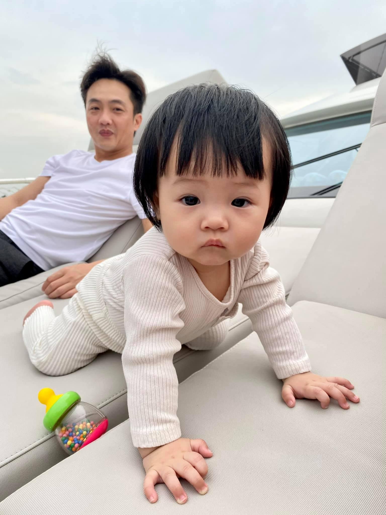 """Cường Đô La khoe ảnh nghỉ lễ sang chảnh của ái nữ, đi chơi bằng du thuyền cực """"chill"""" - Ảnh 5"""