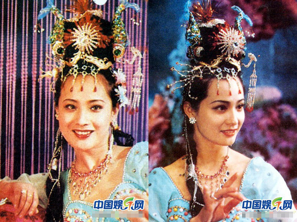 """Tây Du Ký: Nữ yêu xinh đẹp mê hồn nhưng lại """"kém nổi tiếng"""" nhất trong dàn sao năm 1986 - Ảnh 2"""