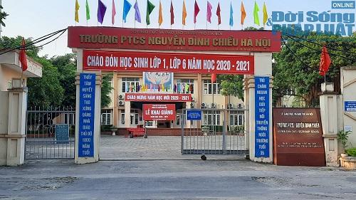 Cận cảnh buổi tựu trường đầu tiên của 207 học sinh ở ngôi trường đặc biệt nhất Thủ đô Hà Nội - Ảnh 1