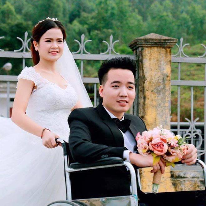 Hôn nhân cổ tích của cô gái xinh đẹp với chàng trai không chân, chấp nhận làm dâu xa hàng trăm cây số - Ảnh 1