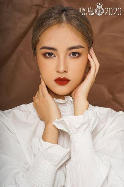 Nhan sắc rực rỡ, ngọt ngào của các thí sinh lọt vòng bán kết Hoa hậu Việt Nam 2020 - Ảnh 9