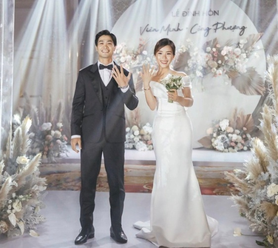 Công Phượng mở tiệc cưới đãi riêng bạn bè tại Phú Quốc - Ảnh 1