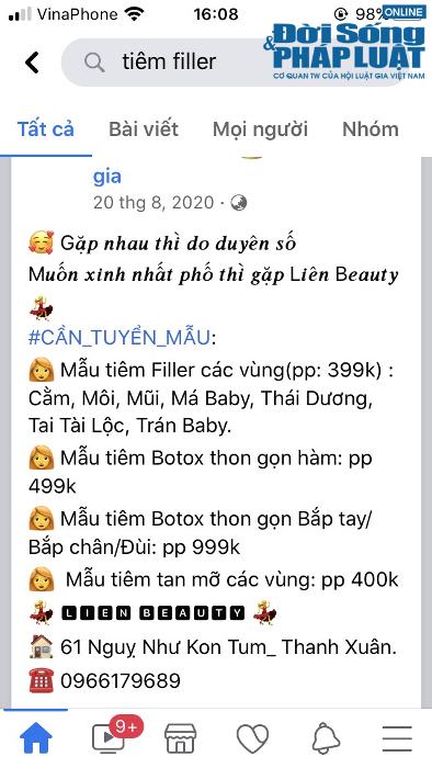 Tiêm filler giá rẻ, cô gái Hà Nội nuốt trái đắng vì gương mặt biến dạng - Ảnh 3