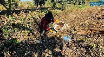 Nàng Mây bỏ đô thị phồn hoa về quê phân loại rác thải - Ảnh 3