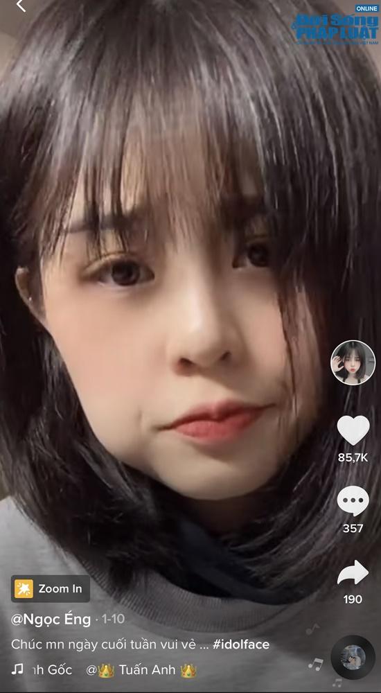 """Ngọc Éng - Nữ TikToker """"hot"""" nhất nhì Việt Nam được ví như búp bê sống, có lượng fan cực khủng - Ảnh 3"""
