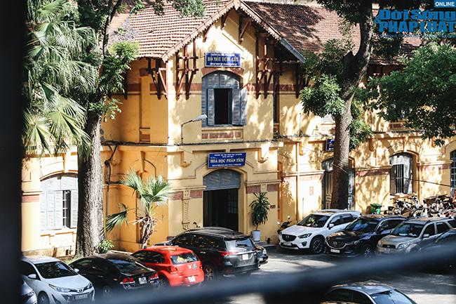 Trường đại học gần 100 năm tuổi cổ kính ở Hà Nội - Ảnh 5