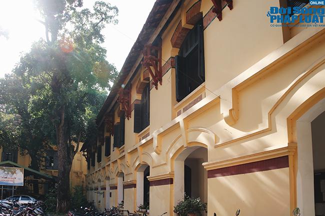 Trường đại học gần 100 năm tuổi cổ kính ở Hà Nội - Ảnh 7