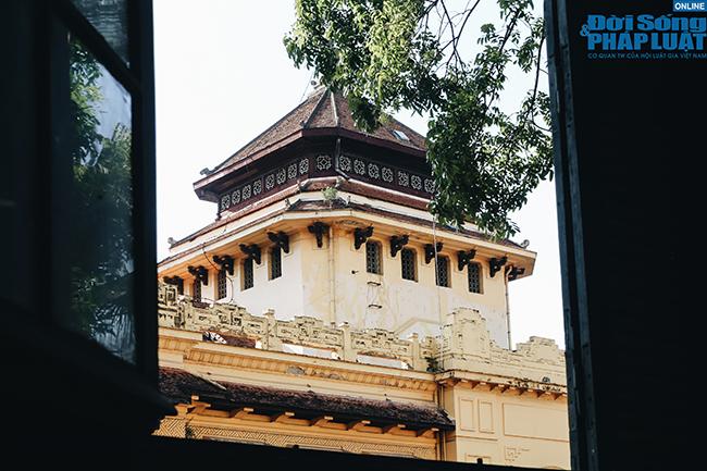 Trường đại học gần 100 năm tuổi cổ kính ở Hà Nội - Ảnh 3