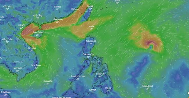 Sau Molave càn quét, biển Đông lại sắp đón bão Goni - Ảnh 1