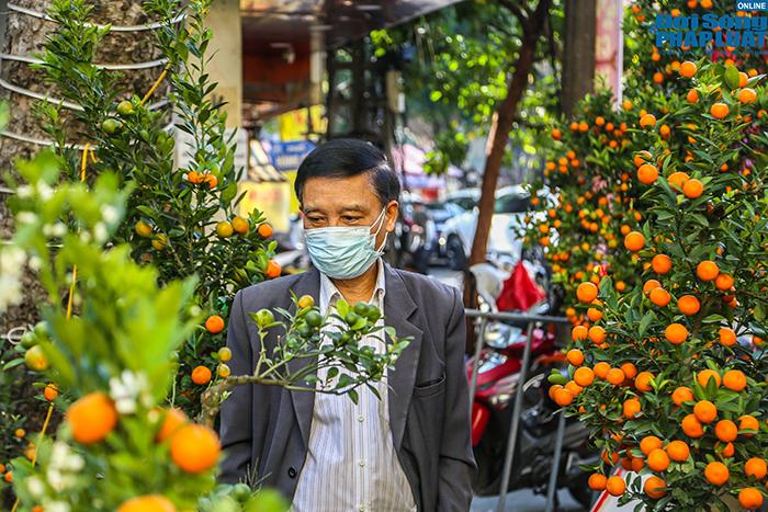 Chợ hoa Hàng Lược chiều 29 Tết: Khách đến xem nườm nượp nhưng ít người mua - Ảnh 12