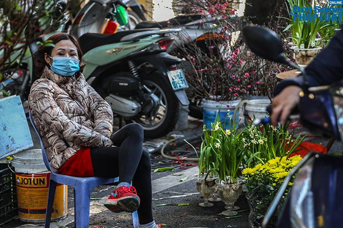 Chợ hoa Hàng Lược chiều 29 Tết: Khách đến xem nườm nượp nhưng ít người mua - Ảnh 6