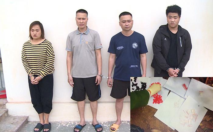 Đột kích bắt 6 chị em trong một gia đình điều hành tụ điểm ma túy  - Ảnh 1