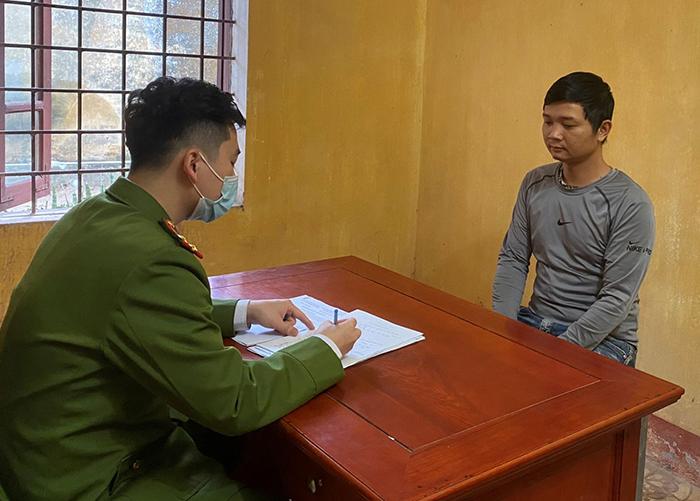 Vụ con trai giết bố đẻ ở Bắc Giang: Nghi phạm uống rượu trước khi gây án - Ảnh 1