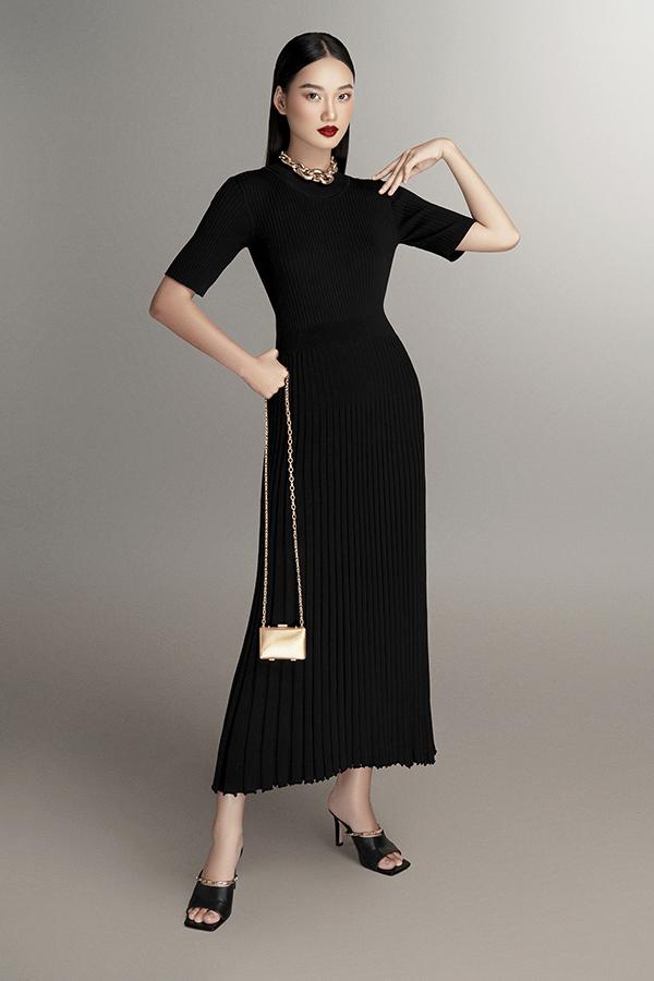 Những mẫu trang phục dệt kim không thể thiếu trong tủ đồ mùa cuối năm của phái đẹp - Ảnh 2