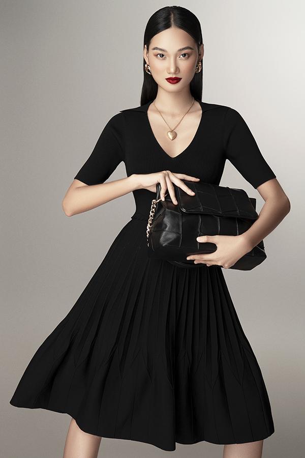 Những mẫu trang phục dệt kim không thể thiếu trong tủ đồ mùa cuối năm của phái đẹp - Ảnh 4