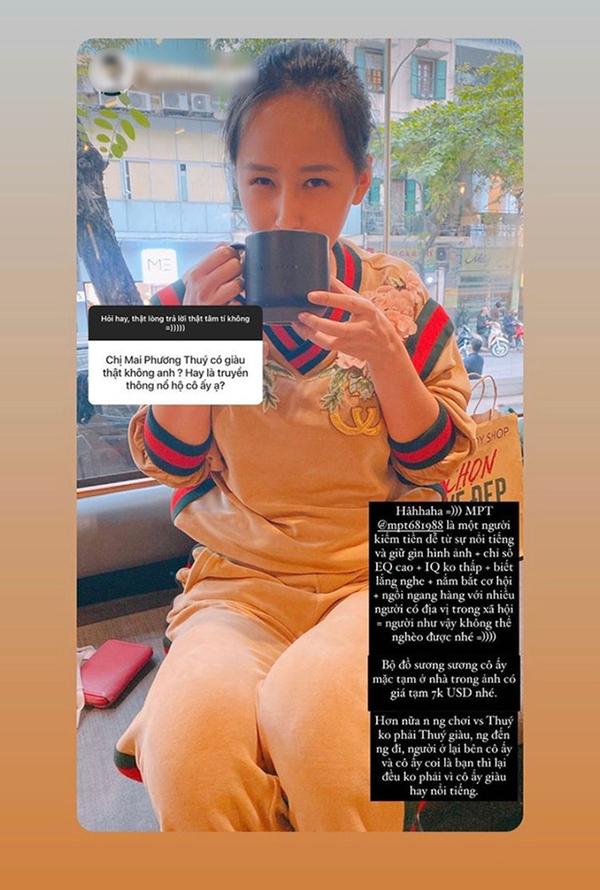 Bạn thân Mai Phương Thúy tiết lộ về sự giàu có của nàng hậu - Ảnh 2