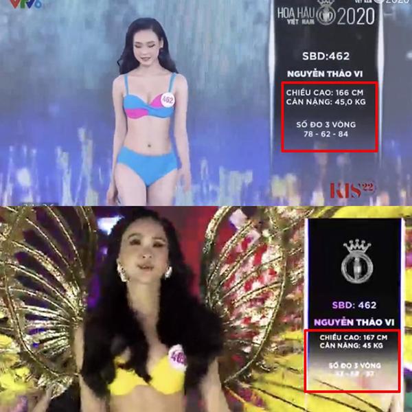 Số đo 3 vòng của các thí sinh Hoa hậu Việt Nam thay đổi bất thường, Ban tổ chức nói gì? - Ảnh 4
