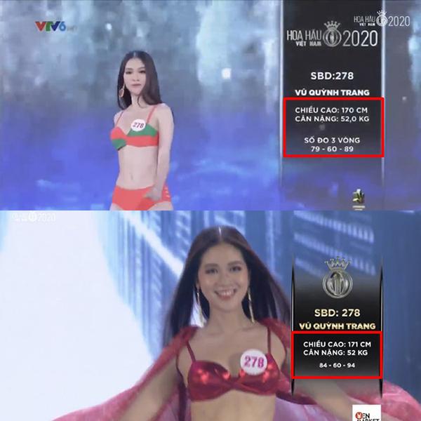 Số đo 3 vòng của các thí sinh Hoa hậu Việt Nam thay đổi bất thường, Ban tổ chức nói gì? - Ảnh 5