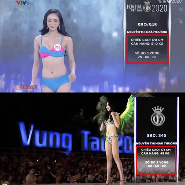 Số đo 3 vòng của các thí sinh Hoa hậu Việt Nam thay đổi bất thường, Ban tổ chức nói gì? - Ảnh 6