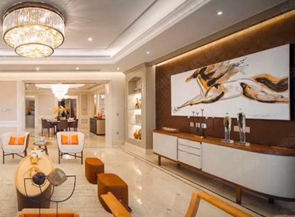 Tham quan siêu căn hộ tiền tỷ của vợ chồng La Tấn - Đường Yên - Ảnh 2