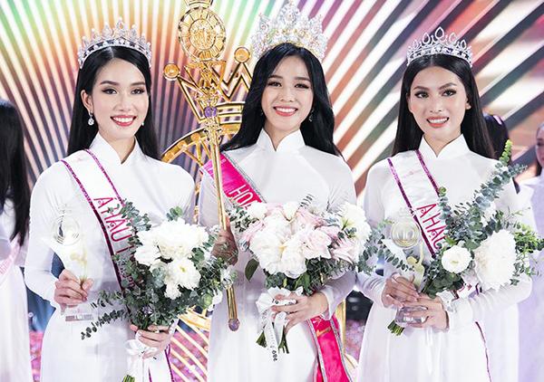BTC lên tiếng về tranh cãi để Hoa hậu Việt Nam 2020 mặc áo dài trắng khi đăng quang - Ảnh 1