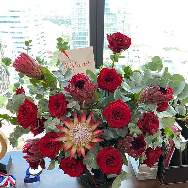 Ông xã Tăng Thanh Hà gửi lời nhắn tình cảm kỷ niệm 8 năm ngày cưới - Ảnh 2