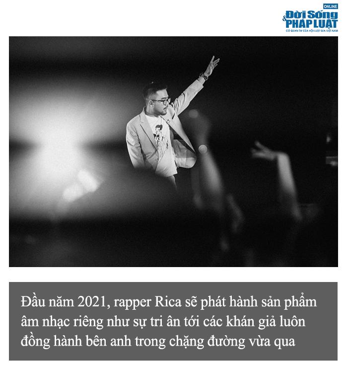 """Rapper Rica: """"Danh hiệu quán quân King of Rap không phải là đích đến của tôi"""" - Ảnh 2"""