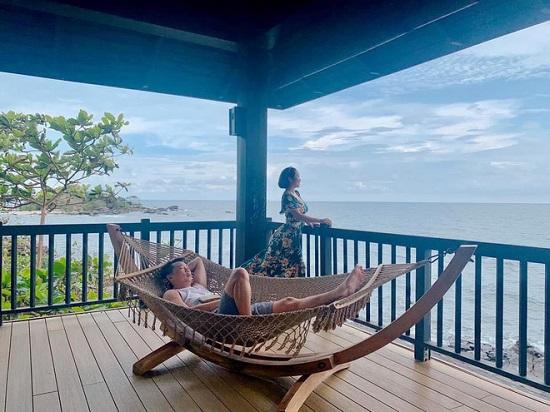 Ốc Thanh Vân - Trí Rùa trốn con đi du lịch riêng, kỷ niệm 12 năm thành vợ chồng - Ảnh 5