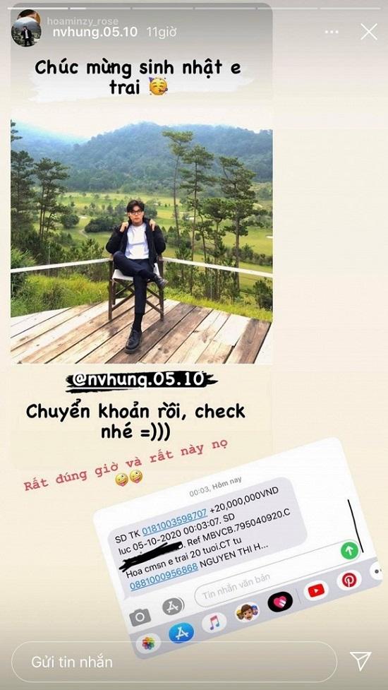 Học tập chị gái, em trai Hòa Minzy khoe ảnh tạo dáng trên du thuyền - Ảnh 4